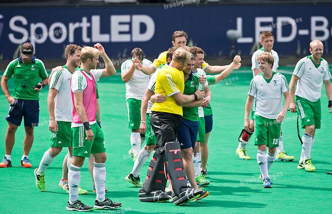 05/07/2015<br /> HWL Semi Final Antwerp Belgium 2015<br /> Ireland v Malaysia Men 5-6<br /> <br /> Photo: Grant Treeby