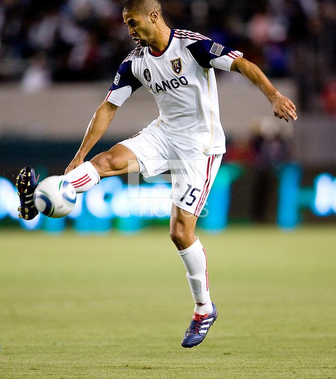 Real Salt Lake forward Alvaro Saborio (15). Real Salt Lake defeated CD Chivas USA 2-1at Home Depot Center stadium in Carson, California on Saturday May 22, 2010.  .