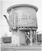 D&amp;RGW Farmington water tank.<br /> D&amp;RGW  Farmington, NM