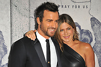 www.acepixs.com<br /> <br /> April 4 2017, LA<br /> <br /> Justin Theroux and Jennifer Aniston arriving at the premiere of HBO's 'The Leftovers' Season 3 at Avalon Hollywood on April 4, 2017 in Los Angeles, California. <br /> <br /> By Line: Peter West/ACE Pictures<br /> <br /> <br /> ACE Pictures Inc<br /> Tel: 6467670430<br /> Email: info@acepixs.com<br /> www.acepixs.com