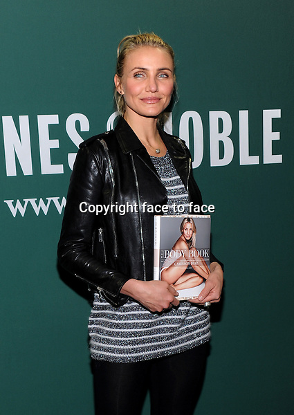 Cameron Diaz attends her &quot;Body Book&quot; book signing at Barnes and Noble in New York City on January 6, 2014.<br /> Credit: MediaPunch/face to face<br /> - Germany, Austria, Switzerland, Eastern Europe, Australia, UK, USA, Taiwan, Singapore, China, Malaysia, Thailand, Sweden, Estonia, Latvia and Lithuania rights only -