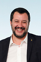 Matteo Salvini<br /> Roma 20/10/2018. Consiglio dei Ministri sulla Manovra Economica DEF.<br /> Rome October 20th 2018. Minister's Cabinet about the Economic and Financial Document.<br /> Foto Samantha Zucchi Insidefoto