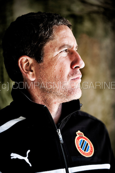 Spanish football manager Juan Carlos Garrido (Belgium, 09/05/2013)