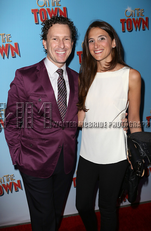 Jacob Langfelder attends the Broadway Opening Night Performance of 'On The Town'  at the Lyric Theatre on October 16, 2014 in New York City.