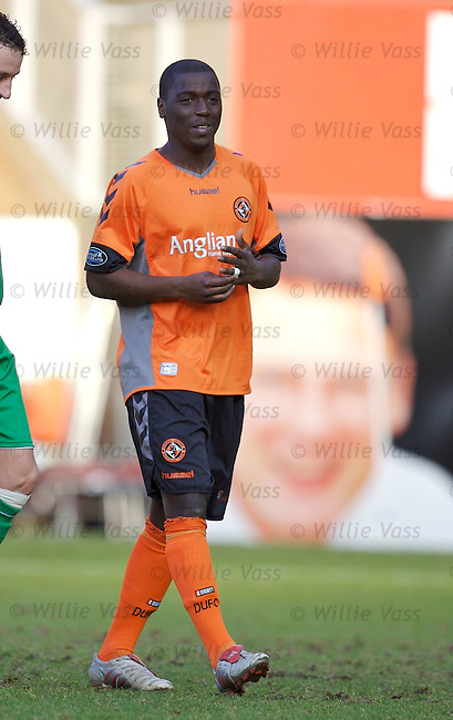 Morgaro Gomis, Dundee Utd.stock season 2006-2007.pic willie vass