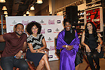 Malcolm-Jamal Warner, Tracee Ellis Ross, Anna Maria Horsford and Melissa De Sousa  Attend Meet the Cast of BET's Reed Between The Lines at Foot Locker Time Square, NY 10/10/11