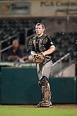 Catcher Luke Lowery (17) of Cosby High School participates in the Team One Futures Game East at Roger Dean Stadium on September 25, 2010 in Jupiter, Florida..  (Copyright Mike Janes Photography)