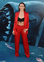 HOLLYWOOD, CA - AUGUST 06: Alyson Stoner attends the premiere of Warner Bros. Pictures and Gravity Pictures' Premiere of 'The Meg' at the TLC Chinese Theatre on August 06, 2018 in Hollywood, California.<br /> CAP/ROT/TM<br /> &copy;TM/ROT/Capital Pictures