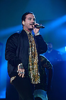 MIAMI, FL - NOVEMBER 5: J Balvin at iHeartRadio Fiesta Latina 2016 at The American Airlines Arena on November 5, 2016. Credit: mpi04/MediaPunch