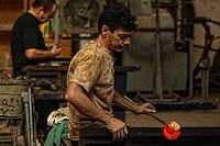 Glassblower, Isle of Malta, 2007
