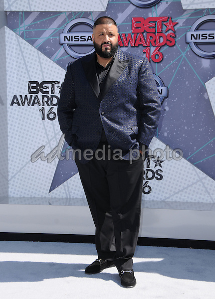 26 June 2016 - Los Angeles. DJ Khaled. Arrivals for the 2016 BET Awards held at the Microsoft Theater. Photo Credit: Birdie Thompson/AdMedia