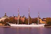 Historic ship AF Chapman at Skeppsholmen, Stockholm, Sweden