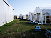 After the Safe from Harm seminare all the workshop tents are put together and transported away. Photo: Jonas Elmqvist