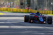 25th March 2018, Melbourne Grand Prix Circuit, Melbourne, Australia; Melbourne Formula One Grand Prix, race day; The number 28 Red Bull Toro Rosso Honda driven by Brendon Hartley