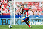 Yannick Ferreira Carrasco of Atletico de Madrid in action during the La Liga 2017-18 match between Atletico de Madrid and Sevilla FC at the Wanda Metropolitano on 23 September 2017 in Madrid, Spain. Photo by Diego Gonzalez / Power Sport Images