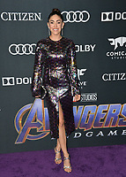 "LOS ANGELES, USA. April 22, 2019: Natalia Cordova-Buckley at the world premiere of Marvel Studios' ""Avengers: Endgame"".<br /> Picture: Paul Smith/Featureflash"