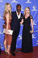 Ore Oduba and Joanne Clifton<br /> celebrating the winners in this year&rsquo;s National Lottery Awards, the search for the UK&rsquo;s favourite Lottery-funded projects.  The glittering National Lottery Stars show, hosted by John Barrowman, is on BBC One at 10.45pm on Monday 12 September.<br /> <br /> <br /> &copy;Ash Knotek  D3151  09/09/2016