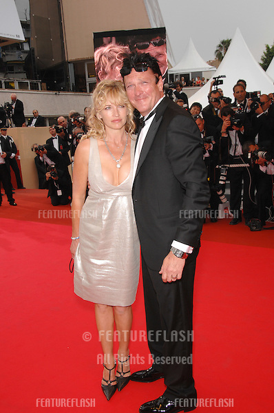 "Michael Madsen & wife De Anna Morgan at screening for ""We Own the Night"" at the 60th Annual International Film Festival de Cannes..May 25, 2007  Cannes, France..© 2007 Paul Smith / Featureflash"