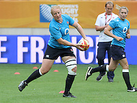 WRWC England v Canada, World Cup Final at Stade Jean Bouin, Avenue du Général Sarrail, Paris, France, on 17th August 2014