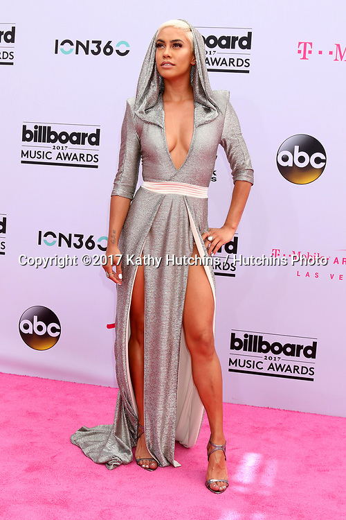 LAS VEGAS - MAY 21:  Sibley Scoles at the 2017 Billboard Music Awards - Arrivals at the T-Mobile Arena on May 21, 2017 in Las Vegas, NV