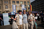 Germany, Berlin, 2018/05/04<br /> <br /> Israelday, 70th celebration of the State of Israel on 04/05/2018 at Gendarmenmarkt. (Photo by Gregor Zielke)