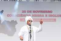 SAO PAULO, SP, 20.11.2015 - CONCIÊNCIA-NEGRA - O cantor Chico César durante apresentação na Semana da Consciência Negra tno Vale do Anhangabaú região central de São Paulo nessa sexta-feira 20. ( Foto: Gabriel Soares/ Brazil Photo Press)