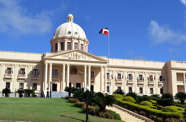 Fachada del palacio de la Presidencia de La Rep&uacute;blica Dominicana.<br /> Foto:Carmen Su&aacute;rez/acento.com.do<br /> Fecha: 23/02/2011