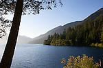 Crescent Lake, Olympic National Park, Washington State, WA, USA