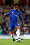 Chelsea's Willian in action during the champions league match at Stamford Bridge Stadium, London. Picture date 12th September 2017. Picture credit should read: David Klein/Sportimage