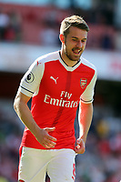 Aaron Ramsey of Arsenal after Arsenal vs Everton, Premier League Football at the Emirates Stadium on 21st May 2017