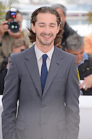 "Shia Labeouf  attending the ""Lawless"" Photocall during the 65th annual International Cannes Film Festival in Cannes, France, 19th May 2012...Credit: Timm/face to face /MediaPunch Inc. ***FOR USA ONLY***"