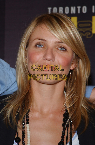 CAMERON DIAZ.At the 'In Her Shoes' Press Conference,.The Toronto Film Festival,.Toronto, 14th September 2005.portrait headshot.Ref: ADM/GS.www.capitalpictures.com.sales@capitalpictures.com.© Capital Pictures.