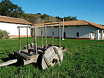 wooden cart at La Purisima Mission SHP