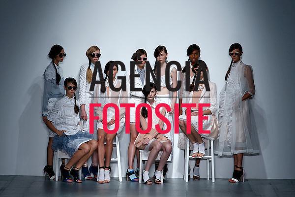 Londres, Inglaterra &sbquo;09/2014 - Desfile de Bora Asku durante a Semana de moda de Londres  -  Verao 2015. <br /> <br /> Foto: FOTOSITE