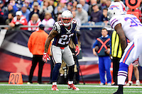 Sunday, October 2, 2016: New England Patriots strong safety Patrick Chung (23) in game action during the NFL game between the Buffalo Bills and the New England Patriots held at Gillette Stadium in Foxborough Massachusetts. Buffalo defeats New England 16-0. Eric Canha/Cal Sport Media