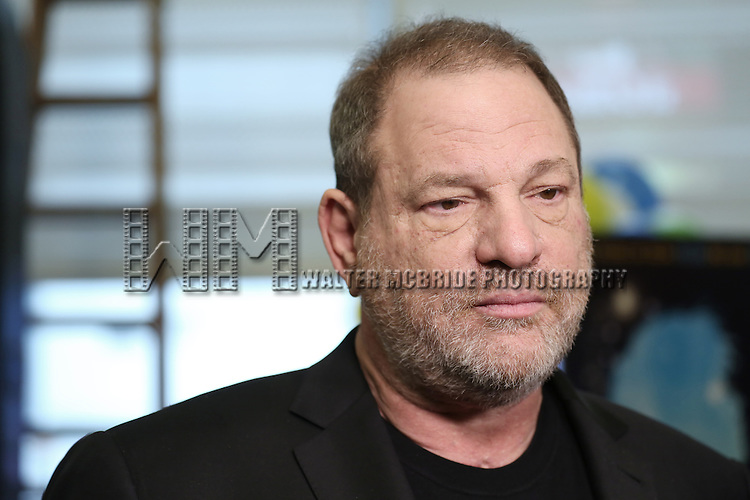 Harvey Weinstein attending the 'Finding Neverland'  Press Sneak Preview at the New 42nd Street Studios on February 26, 2015 in New York City.