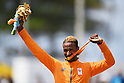 Daniel Abraham Gebru (NED), <br /> SEPTEMBER 17, 2016 - Cycling - Road : <br /> Men's Road Race C4-5 Medal Ceremony <br /> at Pontal <br /> during the Rio 2016 Paralympic Games in Rio de Janeiro, Brazil.<br /> (Photo by AFLO SPORT)