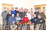 OUT WITH THE OLD: Into the New Kerins O'Rahillys GAA Club on Saturday night were residents of Strand Road: Jimmy Donnelly, Richard Walsh, Helen Barrett, Richard Smith, Will Bennett, David McLoughlin, Shane Ronan, Daniel Nolan, Liam Kissane, Martin O'Shea, Tom Baily, Mike Griffin, Ger Moran, Tommy O'Connor, Anne Roche, Con Bennett, Finbarr Courtney and Dick Donnelly.   Copyright Kerry's Eye 2008