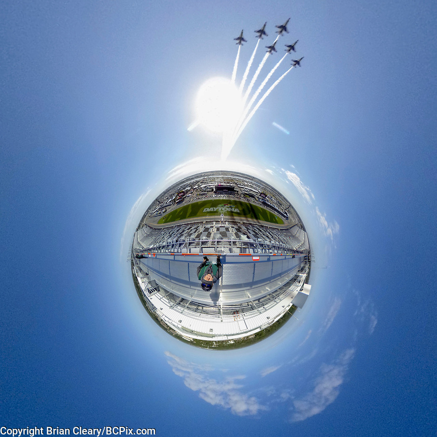 little planet 360 degree view.  (Photo by Brian Cleary/ www.bcpix.com )