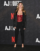 "10 January 2020 - Beverly Hills, California - Sunessis De Brito. Netflix's ""AJ And The Queen"" Season 1 Premiere at The Egyptian Theatre in Hollywood. Photo Credit: Billy Bennight/AdMedia"