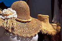 Italien, Verkauf von Hüten auf Capri