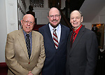 Albert Bergeret, Rupert Holmes and Richard Holmes during The New York Gilbert and Sullivan Players honor Composer Rupert Holmes at the Players Club on June 12, 2019 in New York City.