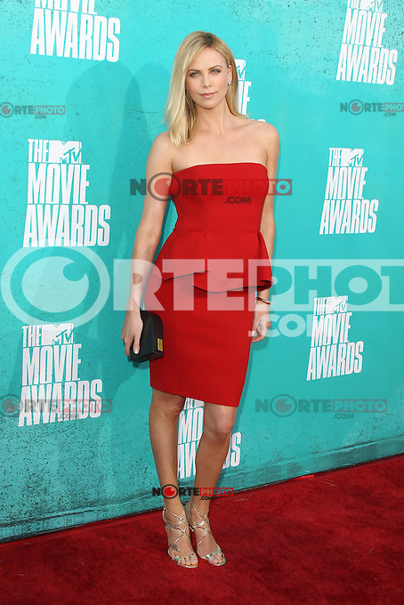 Charlize Theron at the 2012 MTV Movie Awards held at Gibson Amphitheatre on June 3, 2012 in Universal City, California. © mpi29/MediaPunch Inc.