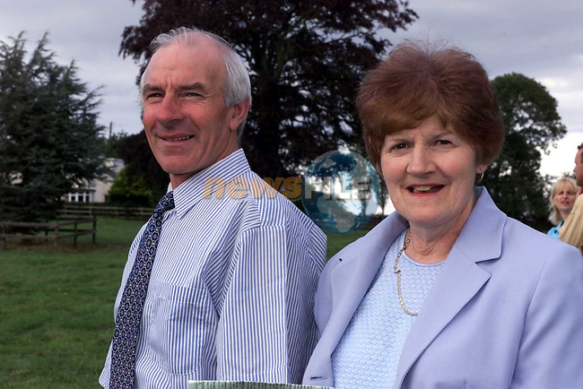 Peter Barnes Beabeg and Florie Houlihan Ascott at the Mass in Beamore.Picture Fran Caffrey Newsfile