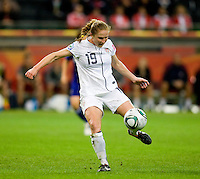Rachel Buehler.  Japan won the FIFA Women's World Cup on penalty kicks after tying the United States, 2-2, in extra time at FIFA Women's World Cup Stadium in Frankfurt Germany.
