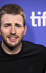 Chris Evans attending the The 2012 Toronto International Film Festival.Photo Call for 'THE ICEMAN' at the TIFF Bell Lightbox in Toronto on 9/10/2012