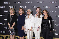 Amelia Bono (2 to R) attends 2014 Vogue Jewelry Awards in Madrid, Spain. November 18, 2014. (ALTERPHOTOS/Victor Blanco) /NortePhoto<br />