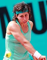 Carla Suarez Navarro, Spain, during Madrid Open Tennis 2018 match. May 9, 2018.(ALTERPHOTOS/Acero) /NortePhoto.com
