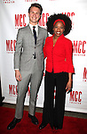 Ansel Elgort & Adriane Lenox.attending the 'MISCAST 2012' MCC Theatre's Annual Musical Spectacular at The Hammerstein Ballroom in New York City on 3/26/2012. © Walter McBride / WM Photography