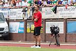 20.07.2019, Heinz-Dettmer-Stadion, Lohne, GER, Interwetten Cup, SV Werder Bremen vs 1. FC Koeln<br /> <br /> im Bild<br /> Achim Beierlorzer (Trainer / Cheftrainer 1. FC Koeln) in Coachingzone / an Seitenlinie, <br /> <br /> Foto © nordphoto / Ewert